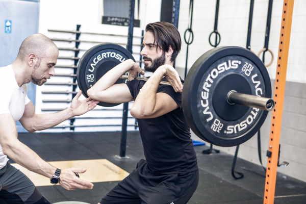 Front squat come alternativa per il tronco inferiore